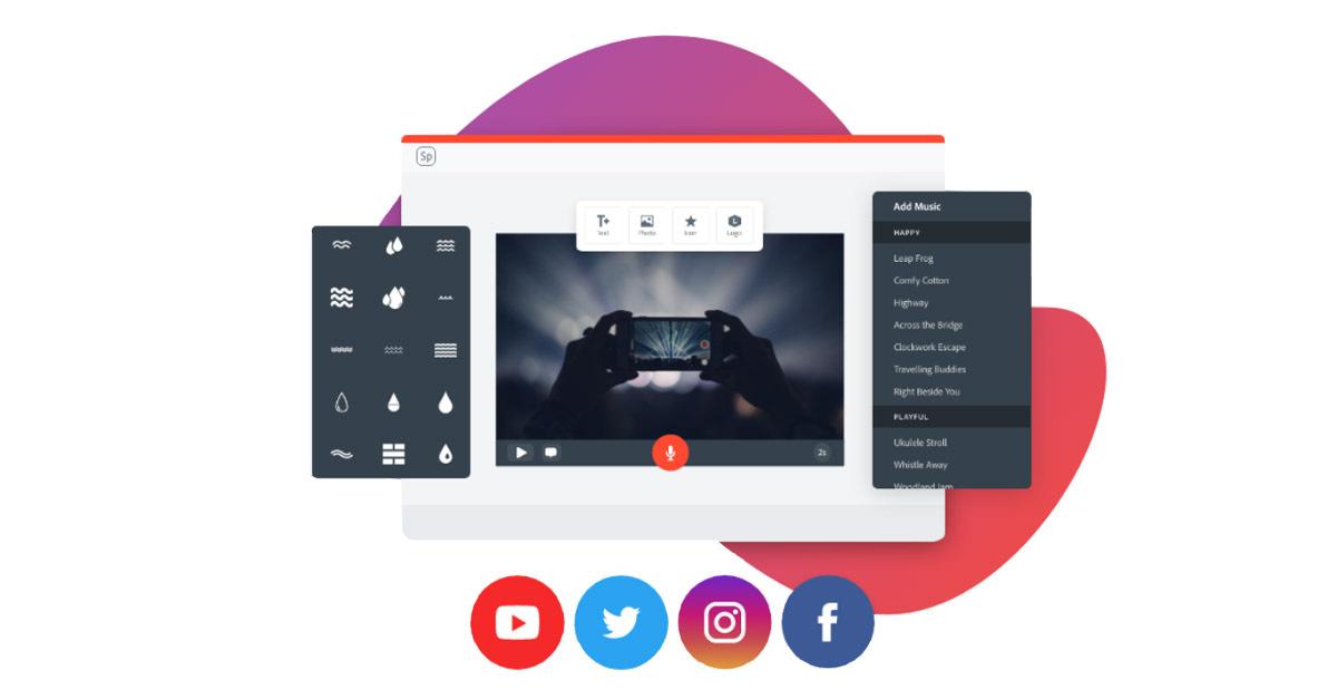 Online Video Editor Free Video Maker Adobe Spark